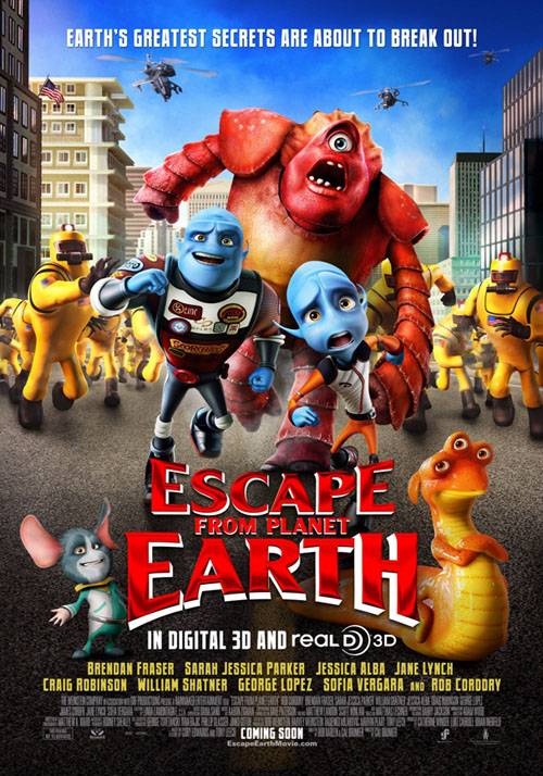 地球人壞壞 Escape from Planet Earth海報/劇照